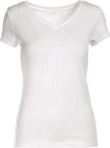T-shirt Multu z okrągłym dekoltem w stylu casual