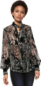 Bluzka Desigual z długim rękawem