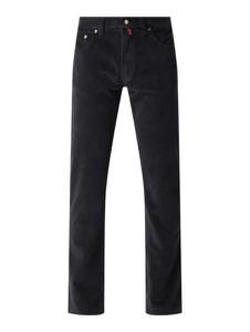 Czarne spodnie Pierre Cardin ze sztruksu