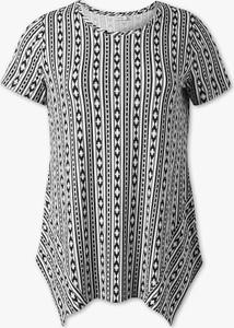 T-shirt YESSICA z krótkim rękawem z okrągłym dekoltem w stylu casual