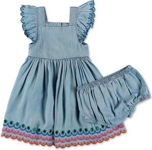 Niebieska sukienka dziewczęca Stella McCartney