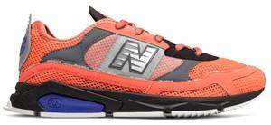 Pomarańczowe buty sportowe New Balance sznurowane