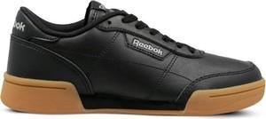 Brązowe buty sportowe Reebok w sportowym stylu