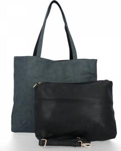 Czarna torebka Bee Bag na ramię duża