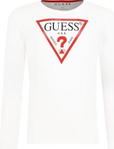 Koszulka dziecięca Guess z długim rękawem