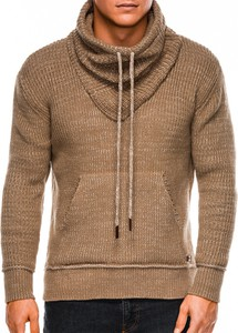 Brązowy sweter Ombre_Premium