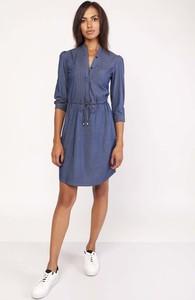 Niebieska sukienka Lanti