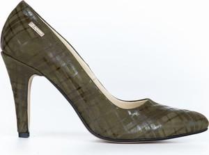 Szpilki Zapato z nadrukiem na wysokim obcasie
