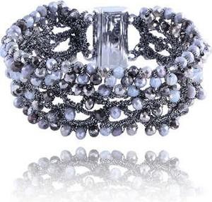 POLSKA Błyszcząca bransoletka w stylu Glamour