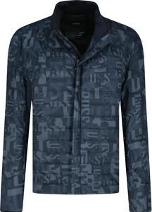 Niebieska kurtka Hugo Boss krótka