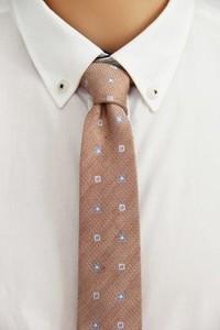 Różowy krawat The Bow Bow Ties