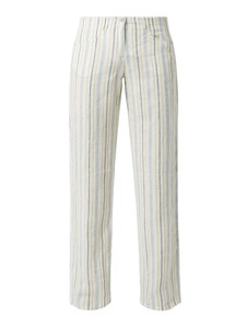 Spodnie Brax z lnu