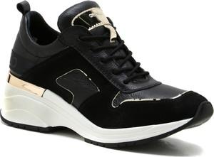 Czarne buty sportowe CheBello sznurowane