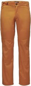 Pomarańczowe spodnie Black Diamond z bawełny