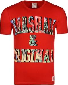 T-shirt Marshall Orginal z bawełny z krótkim rękawem z nadrukiem