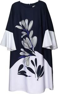 Sukienka Sklepfilloo mini z okrągłym dekoltem