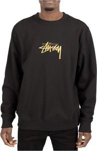 Czarna bluza Stussy w młodzieżowym stylu