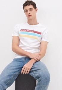 T-shirt House z nadrukiem z krótkim rękawem