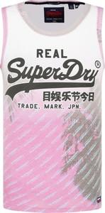 T-shirt Superdry w młodzieżowym stylu