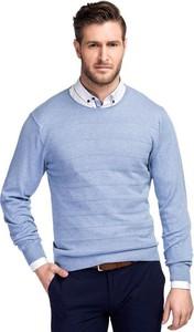 Błękitny sweter Giacomo Conti