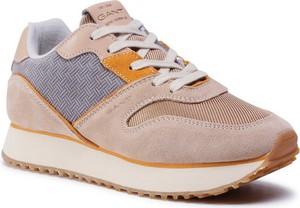Buty sportowe Gant sznurowane na platformie