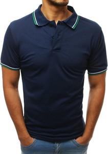 Koszulka polo Dstreet z bawełny z krótkim rękawem w stylu casual