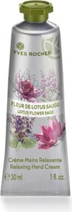 Yves Rocher Relaksujący krem do rąk Kwiat lotosu & Szałwia