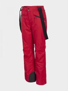 Czerwone spodnie sportowe Outhorn w sportowym stylu