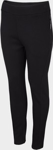 Czarne spodnie sportowe Outhorn z dresówki w stylu casual