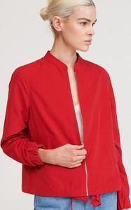 Czerwona kurtka Reserved w stylu casual krótka