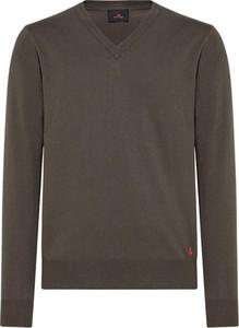 Brązowy sweter Peuterey z wełny