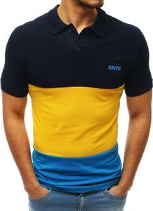 Koszulka polo Dstreet z krótkim rękawem z bawełny