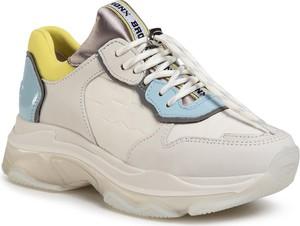 Buty sportowe Bronx sznurowane na platformie