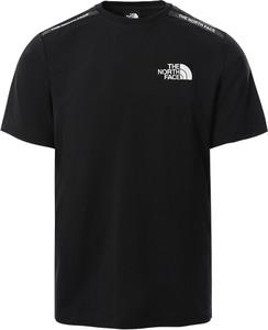T-shirt The North Face w sportowym stylu z dzianiny