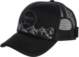 Czarna czapka Viking z nadrukiem