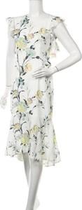 Sukienka Hope & Ivy z okrągłym dekoltem midi