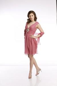 Różowa sukienka Fokus bez rękawów z jedwabiu