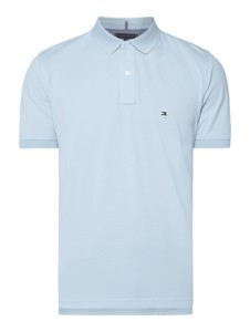 e2e7214229997 koszulka polo tommy hilfiger classic biała - stylowo i modnie z Allani