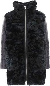 Czarny płaszcz Fay