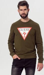 Zielona bluza Guess w młodzieżowym stylu