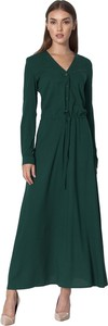 Zielona sukienka Nife maxi