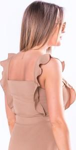 Sukienka Ptakmoda.com bez rękawów
