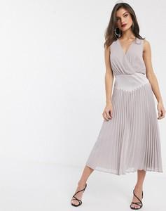 Sukienka Asos Design z dekoltem w kształcie litery v bez rękawów