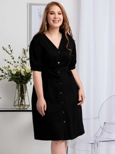 Sukienka KARKO mini z bawełny