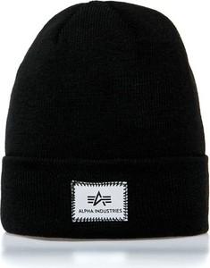 Czarna czapka Alpha Industries