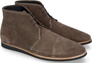 Brązowe buty zimowe Melvin & Hamilton sznurowane