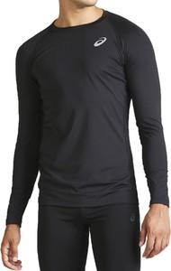 Czarna koszulka z długim rękawem ASICS