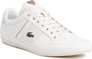 Sneakersy LACOSTE - Chaymon 319 1 Cma 7-38CMA00212R2 Off Wht/Lt Brw