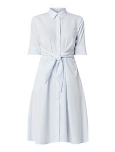 Niebieska sukienka Ralph Lauren koszulowa