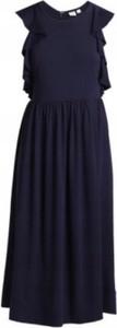 Granatowa sukienka Gap maxi